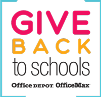 Give Back to Schools: Office Depot/OfficeMax